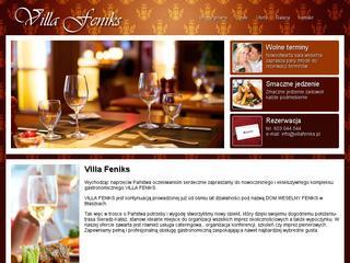 Imprezy okolicznościowe - Błaszki - Villa Feniks